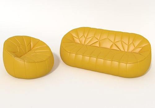 ottoman sofa 3d model