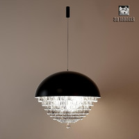 Fendi Giotto Silver Leaf Lamp