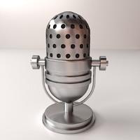 3ds retro microphones