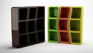 original shelves 3d c4d
