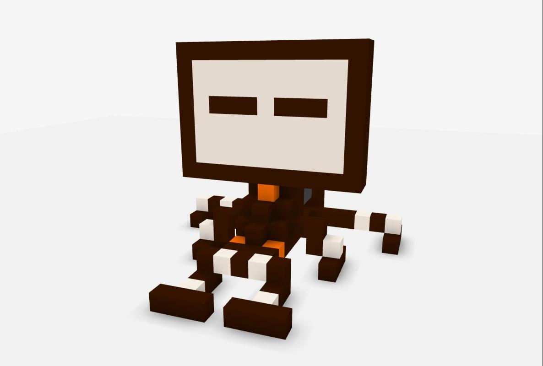 free block brown 3d model