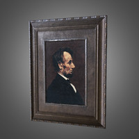 3d ready picture frame model