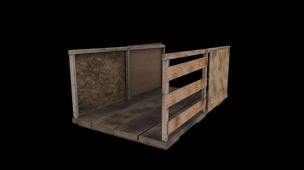 wooden platform max free