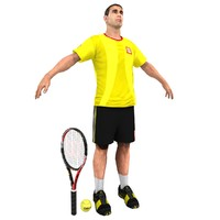 Tennis Player V4