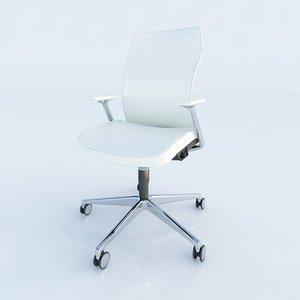 allsteel chair 3d max