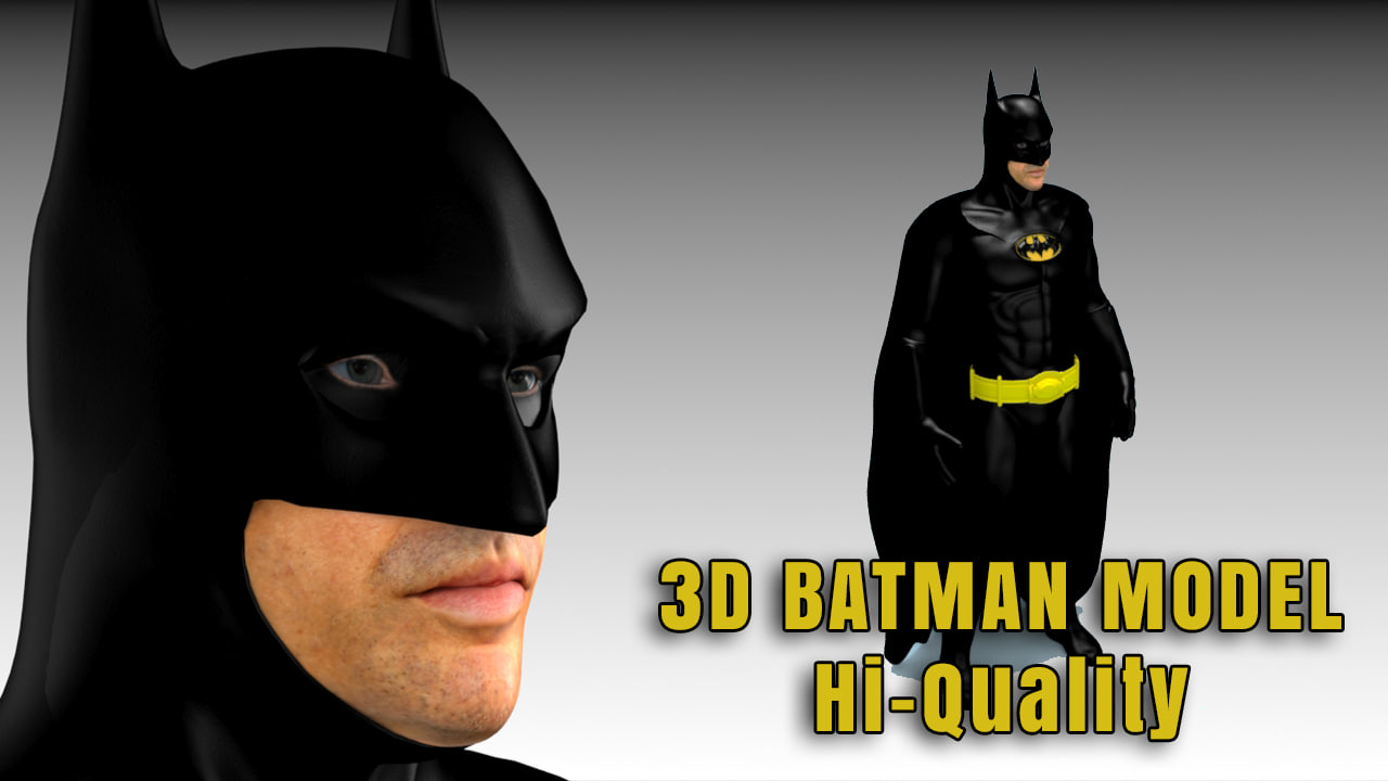 fbx batman returns realistic