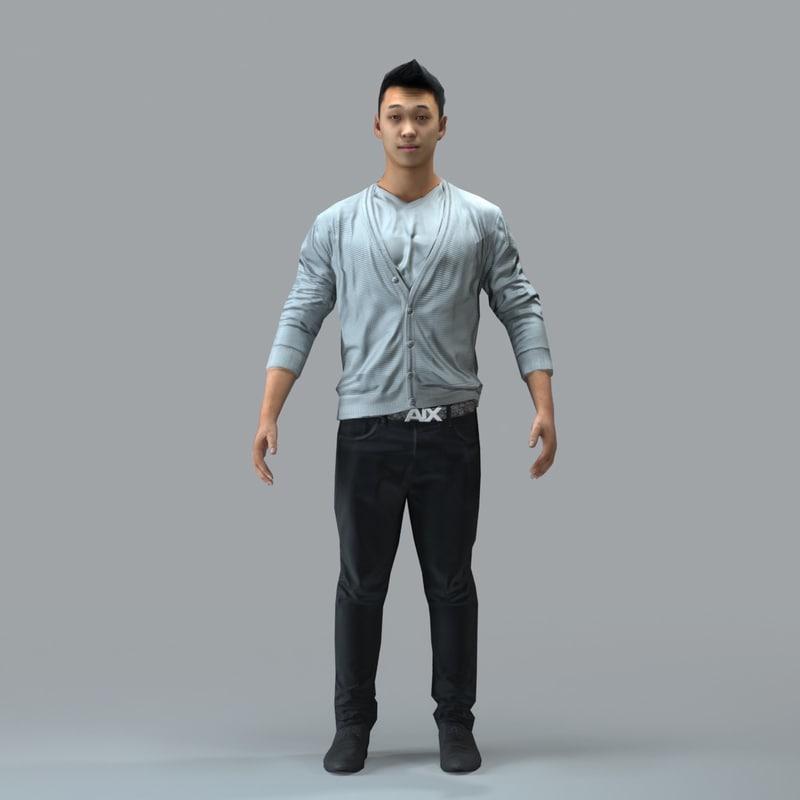 axyz character human max