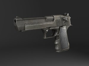3ds pistol desert eagle