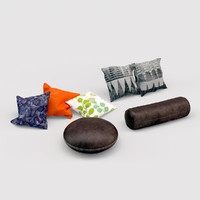 3d pillow set sofas