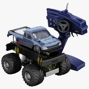 3d model remote control car set