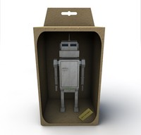 robot toy in a box