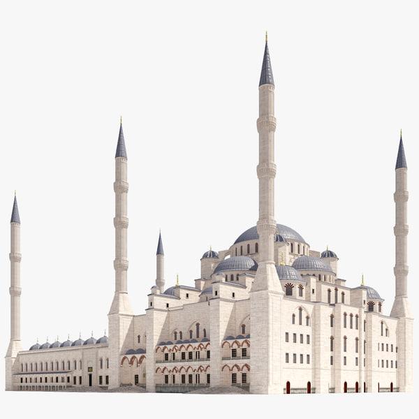 sultan ahmed blue mosque 3d 3ds