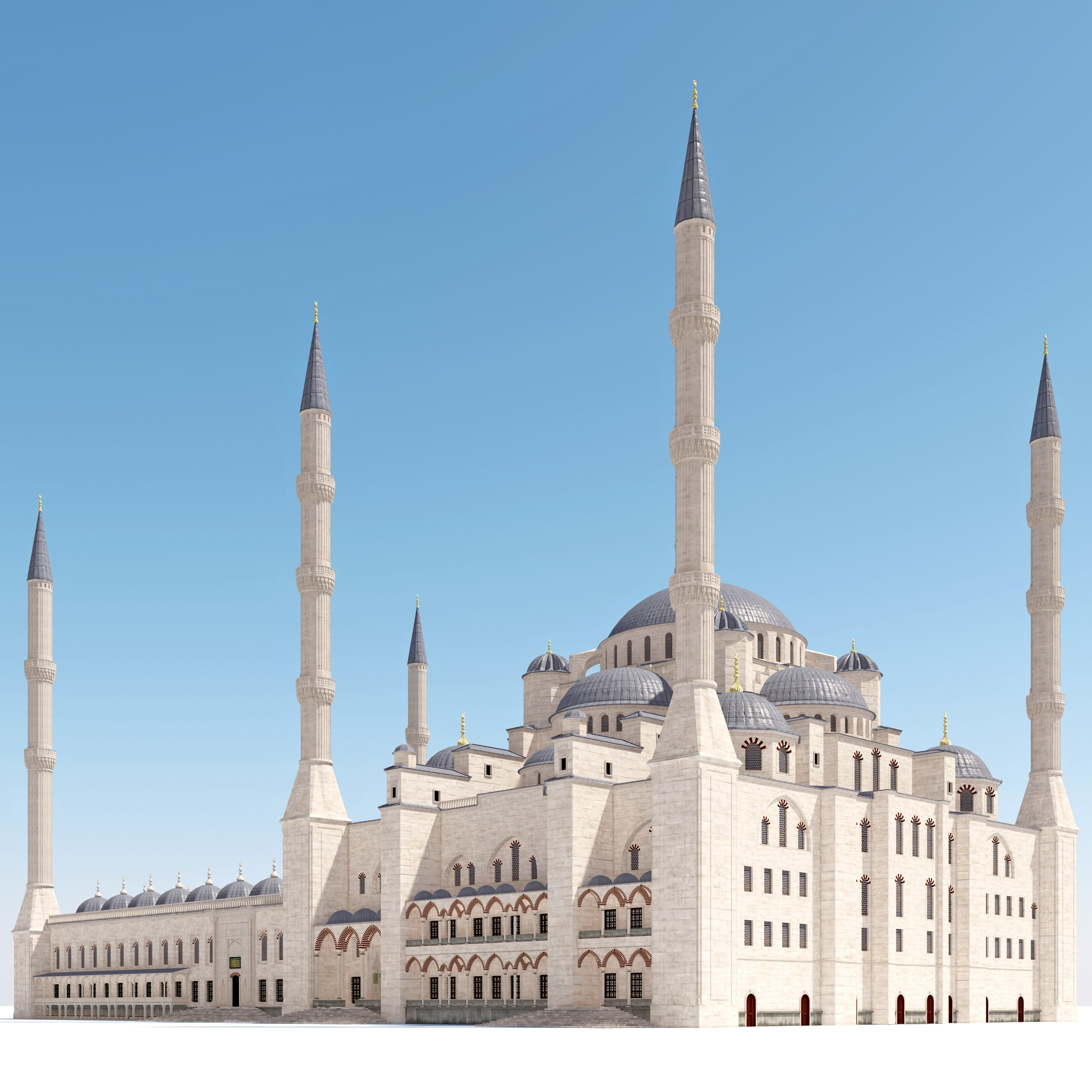 sultan ahmed blue mosque 3d 3ds
