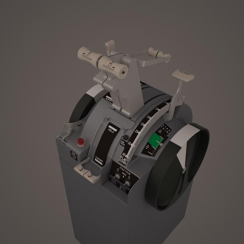 boeing b737-800 throttle quadrant max