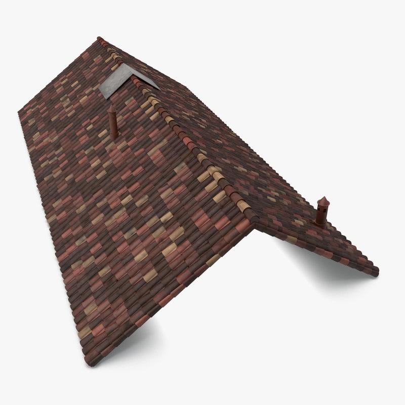max old ceramic tile roof