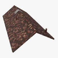 Old Ceramic Tile Roof Top