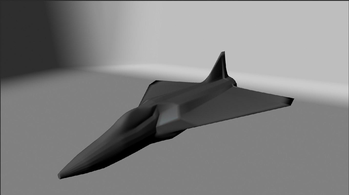 3d model pv-3 jet