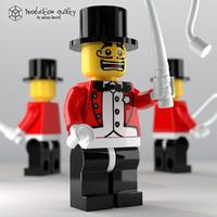 Lego Ringmaster Figure