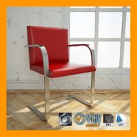 3d model brno flat frame chair materials