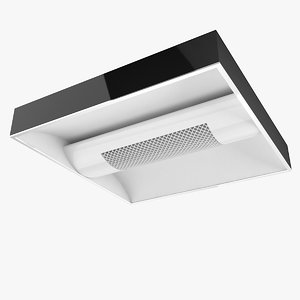 office ceiling light 2 3d model