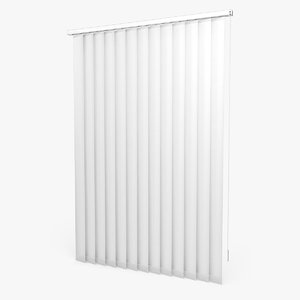 3d model vertical blinds
