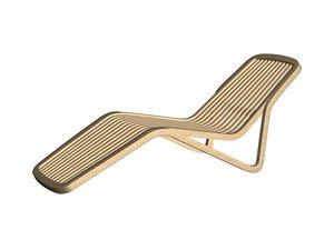 shoreline deck chair 3d max