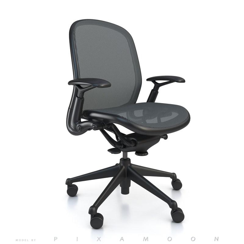 chadwick chair knoll 3d model