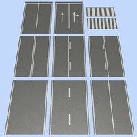 3ds max road mht-02 2 lane