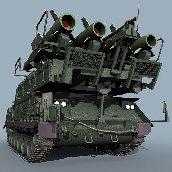 25种不同风格俄罗斯防空导弹3D模型