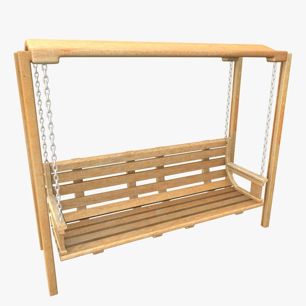 3ds hanging bench