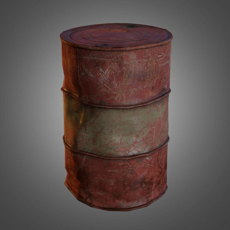 Barrel Paint Color