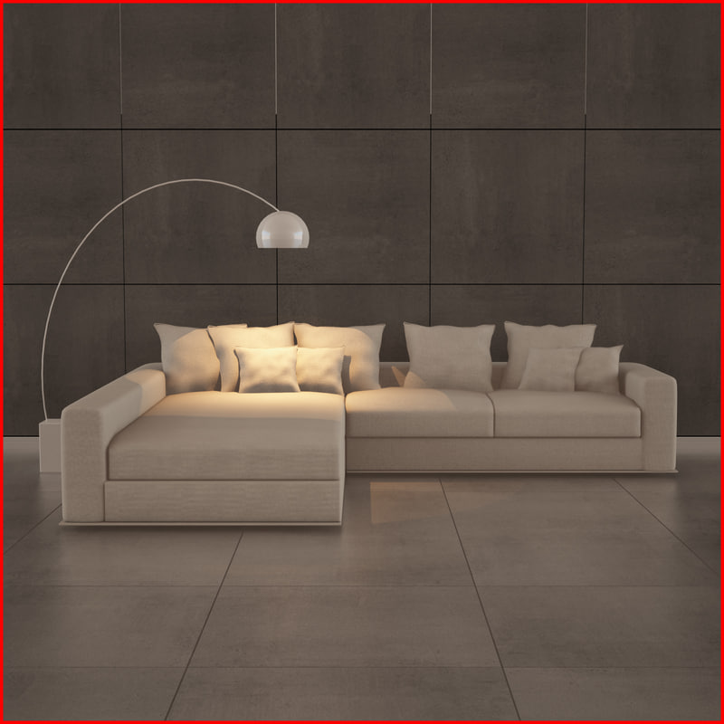 3d model nice sofa 12
