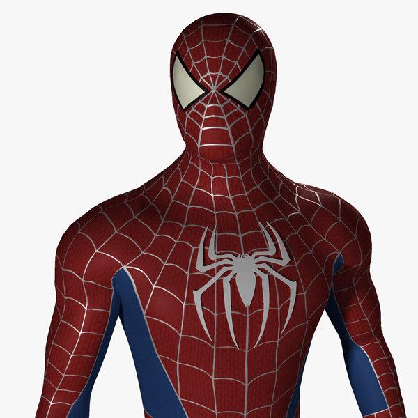 fbx spiderman spider man
