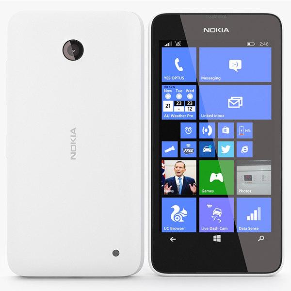 nokia lumia 630 3d 3ds