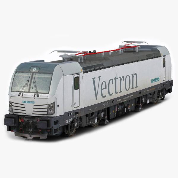 3d siemens vectron model