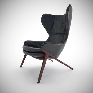 3d cassina p22 chair furniture