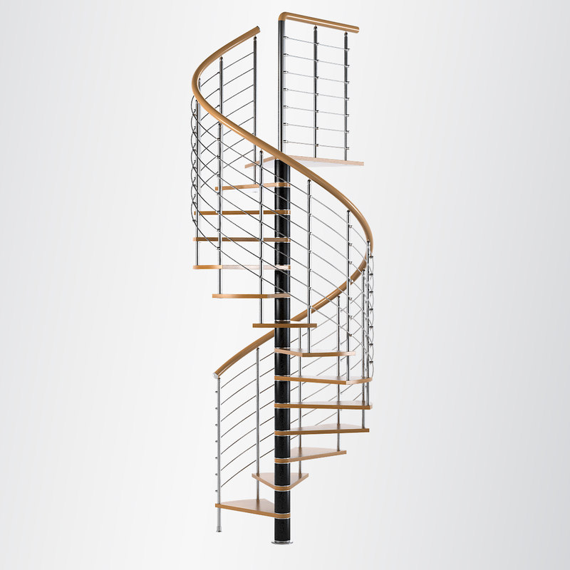stair arke 3d model