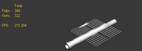 free template blow pipes 3d model