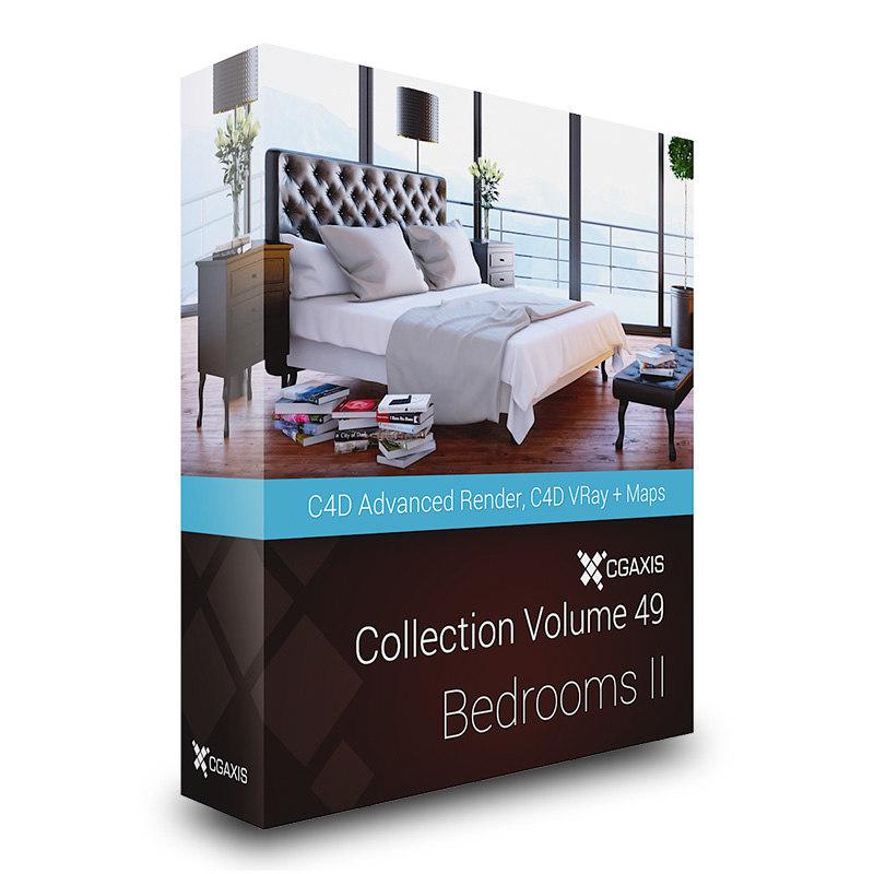 3d model cgaxis volume 49 bedrooms