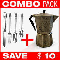 COMBO (Coffee + Knife Fork Spoon)