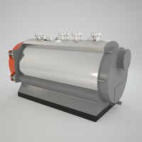boilers duoterm 3d model