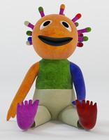 Wink Muppet Toy