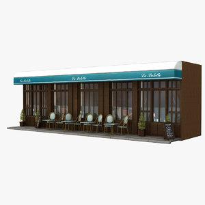 3d france restaurant
