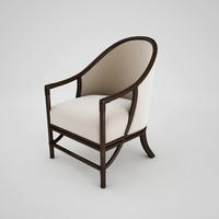 McGuire (Orlando Diaz-Azcuy) Aria Dining Arm Chair