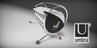 paper basket 3d 3ds