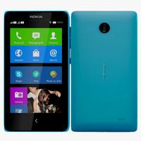 3d nokia x blue model