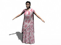3d - women wearing sadi model