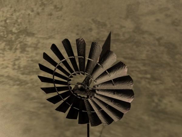 free wind 3d model
