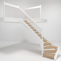 staircase architech 3d model