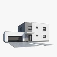 3dsmax family house